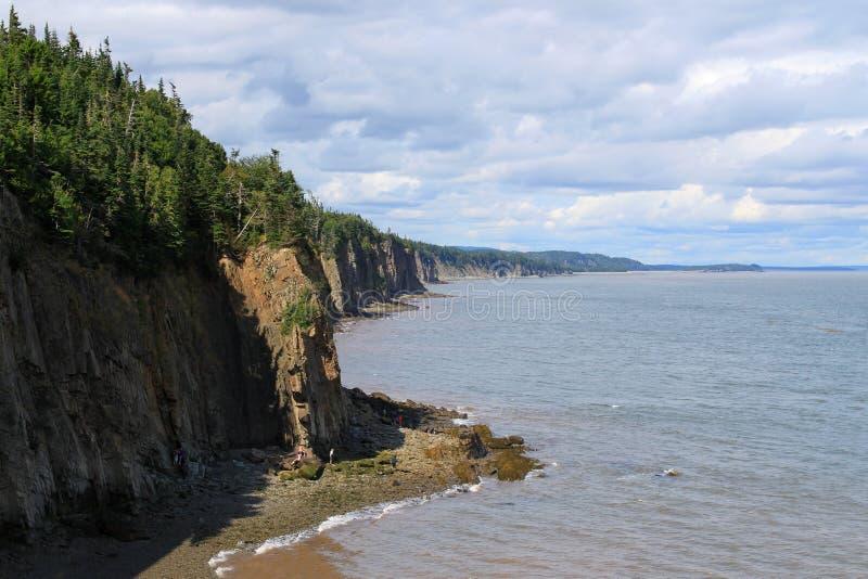 O cabo irrita, Novo Brunswick, Canadá imagens de stock royalty free