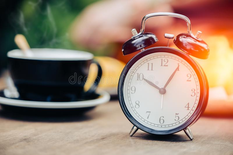 O café cronometra o pulso de disparo do conceito foto de stock