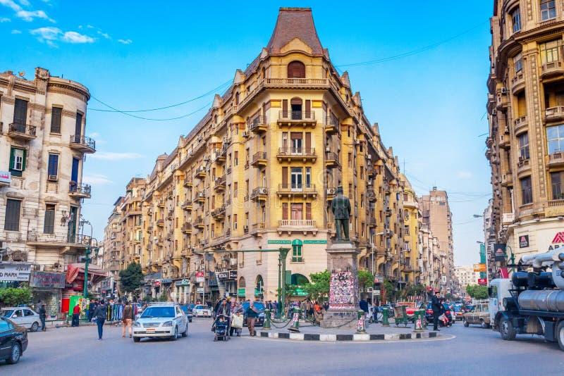 O Cairo após a revolução da fraternidade muçulmana fotografia de stock royalty free