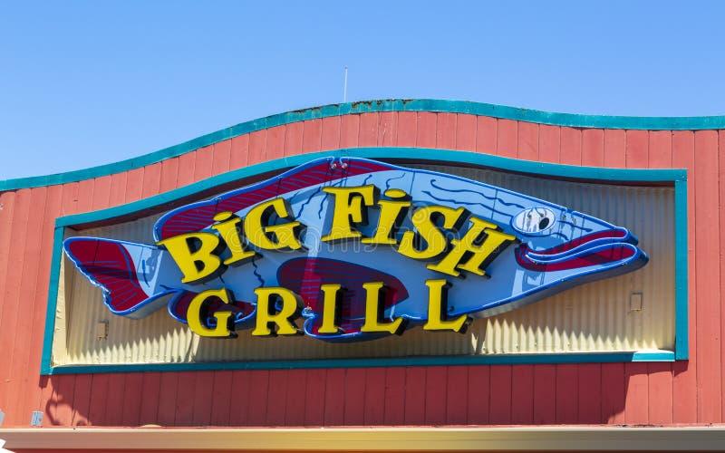 O cais do pescador, baía de Monterey, península, Monterey, Oceano Pacífico, Califórnia, Estados Unidos da América, America do Nor foto de stock