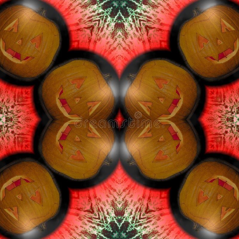 O caleidoscópio Eyes fantasmas de Dia das Bruxas Textura sem emenda Fantasmas de Dia das Bruxas do olho Vista no olho do medo ilustração royalty free