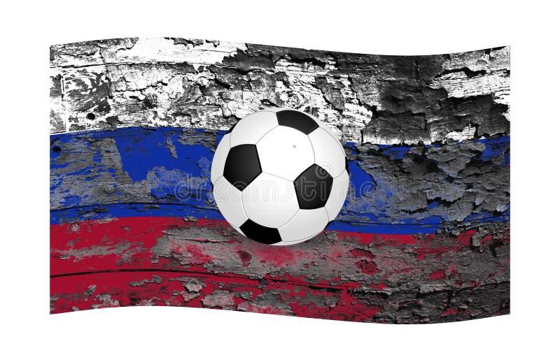 O campeonato do mundo e uma economia pobre do russo imagens de stock