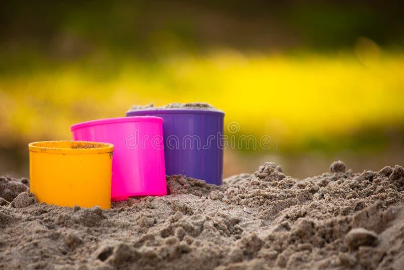 Download Campo de jogos da areia foto de stock. Imagem de plástico - 29833268