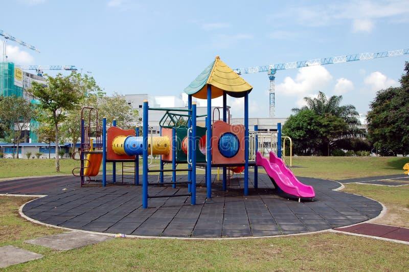 O campo de jogos das crianças em Putrajaya fotos de stock royalty free