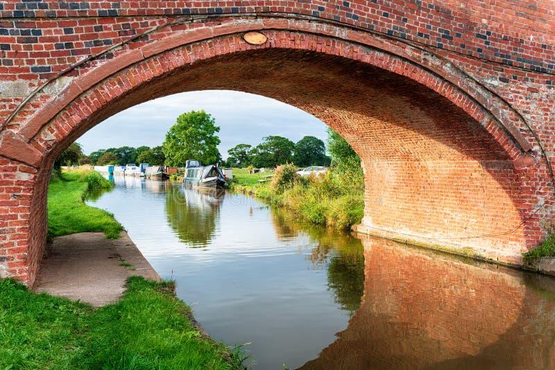 O canal da união de Shropshire fotografia de stock royalty free