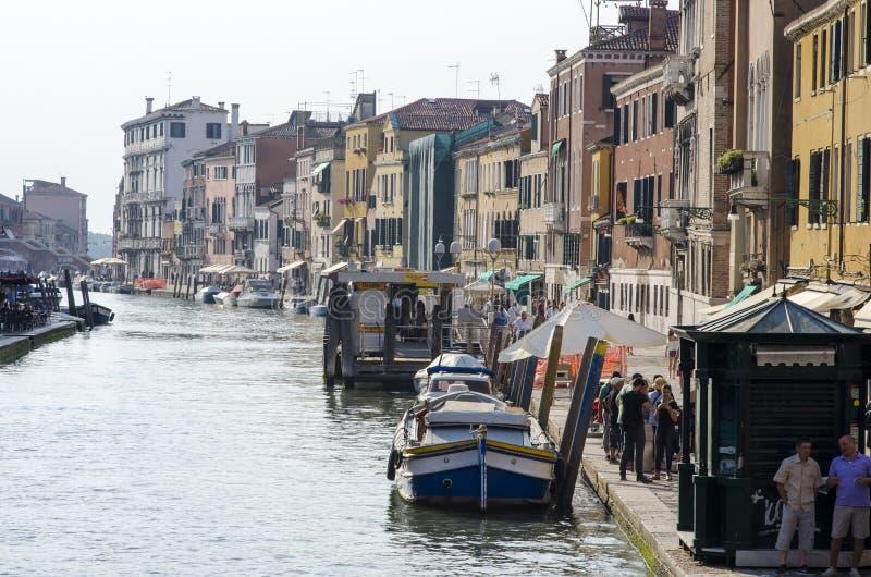 O canal grande de Veneza fotos de stock