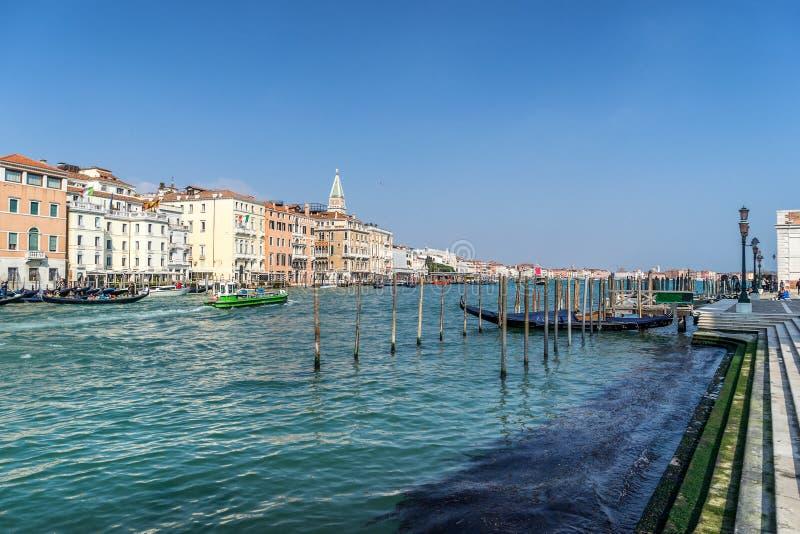 O canal grande em Veneza fotos de stock royalty free
