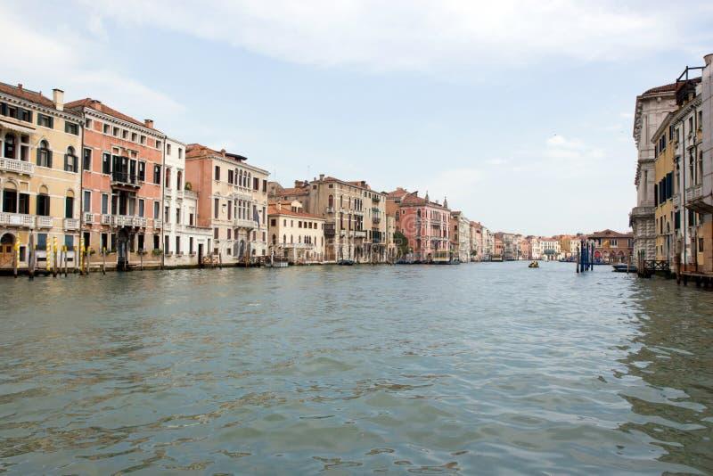 O canal grande, Veneza, Italy fotos de stock