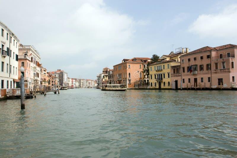 O canal grande, Veneza, Italy imagem de stock royalty free