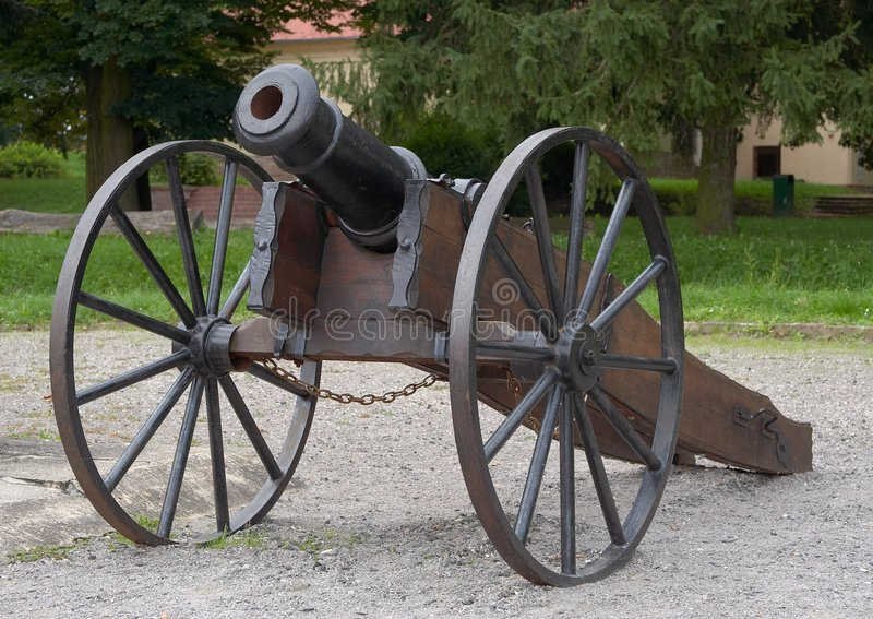 O canhão. imagem de stock royalty free