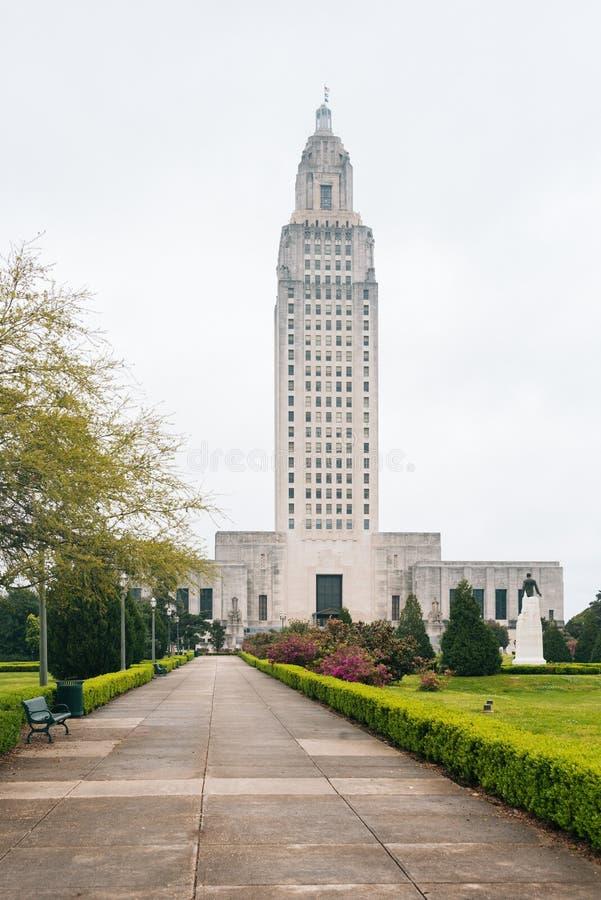O Capitólio do estado de Louisiana, no trapaceiro do bastão, Louisiana imagens de stock royalty free