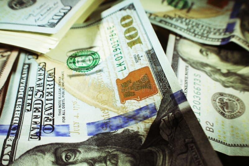 O capitalismo com centenas fecha-se acima de alta qualidade fotos de stock royalty free
