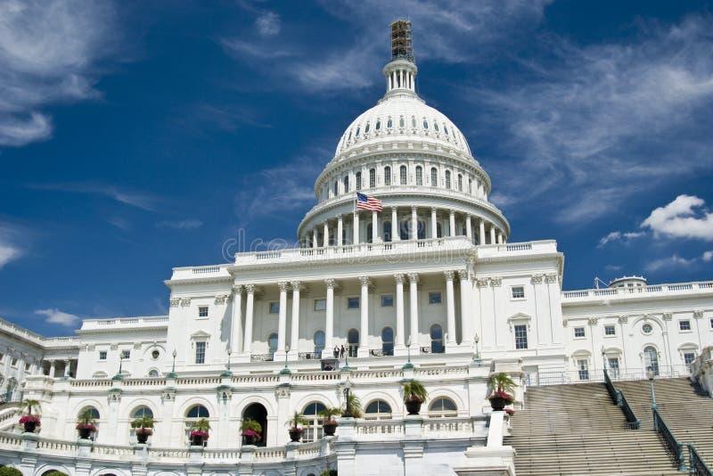 O Capitol Hill imagem de stock