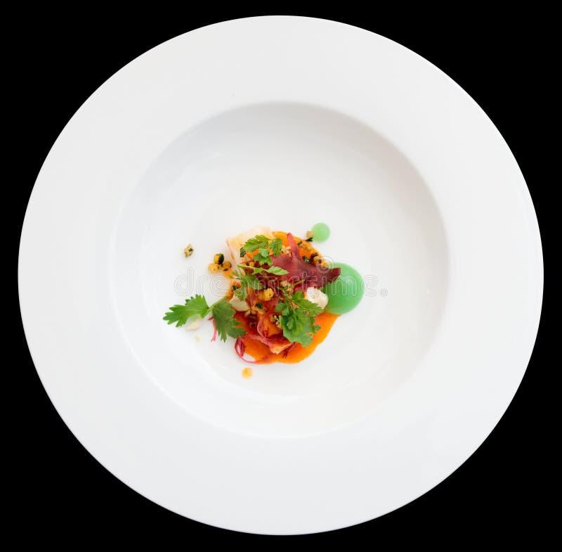 O caranguejo do pimentão cozinhou na maneira moderna fotografia de stock royalty free