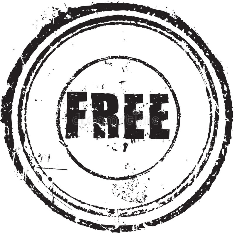 O carimbo de borracha com o texto livra ilustração royalty free