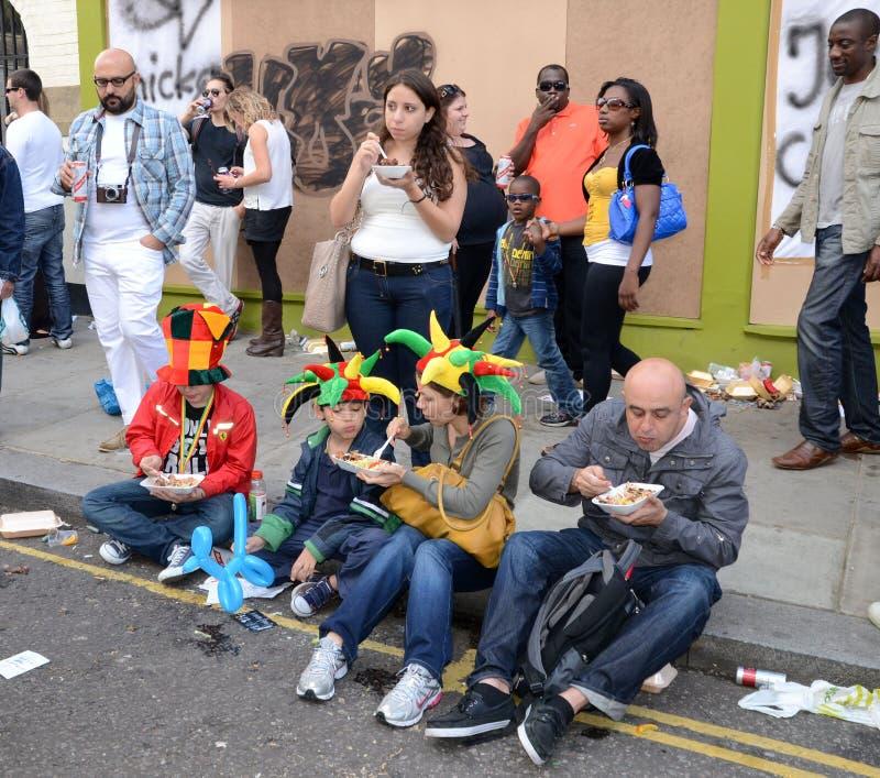 O Carnaval 2011 De Notting Hill 28o Agosto 2011 Foto de Stock Editorial