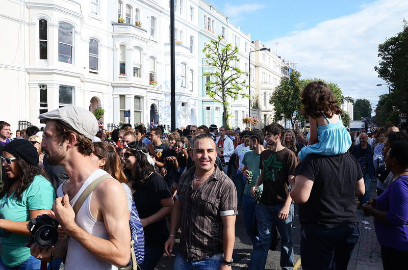 O Carnaval 2011 De Notting Hill 28o Agosto 2011 Foto de Stock Editorial