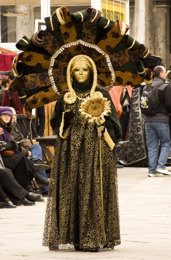 O carnaval de Veneza foto de stock royalty free