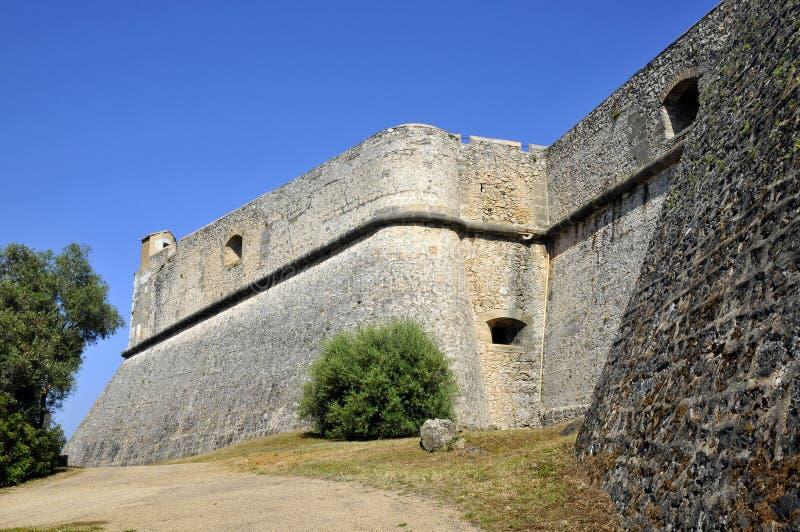 O carré do forte de Antibes em França foto de stock