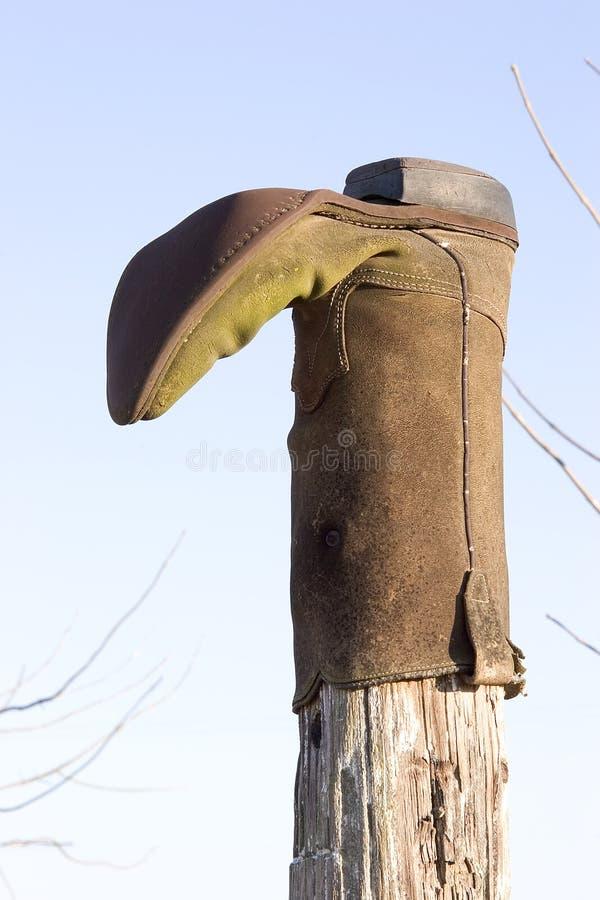 O carregador de cowboy fotografia de stock