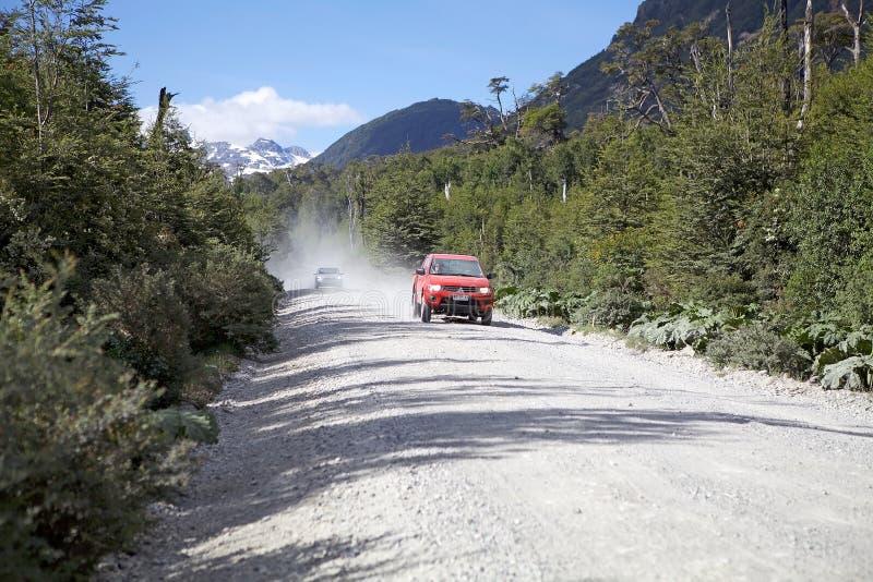 O Carretera Austral, o Chile imagens de stock