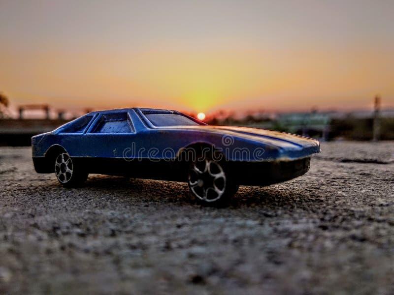 O carro da maravilha fotografia de stock