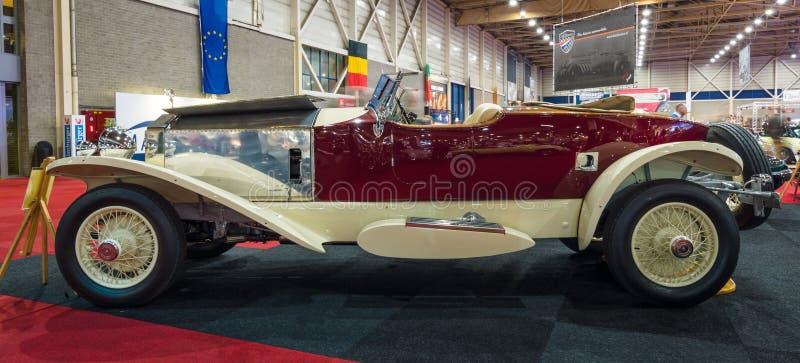 O carro luxuoso Rolls-Royce Phantom mim popa Tourer, 1928 imagens de stock royalty free