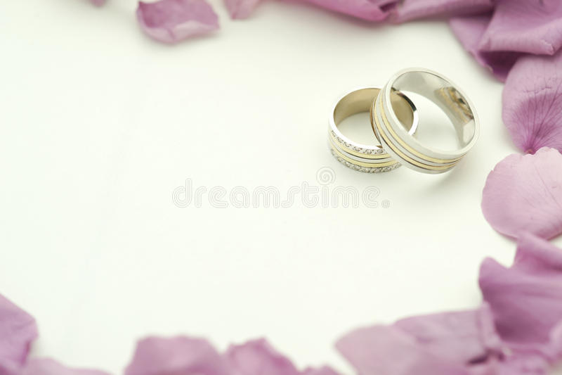 O casamento elegante convida fotografia de stock royalty free