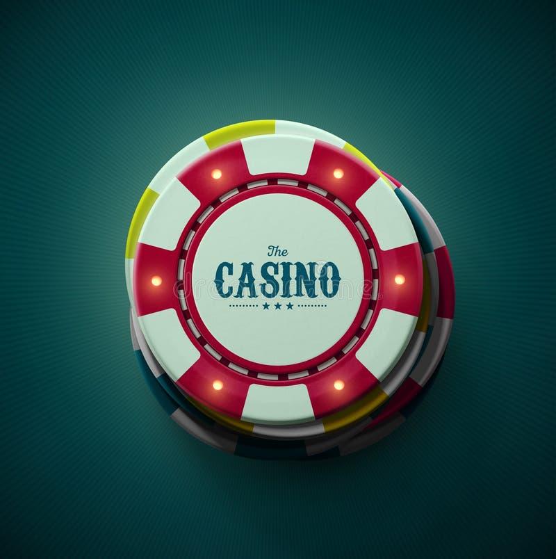 O casino ilustração royalty free