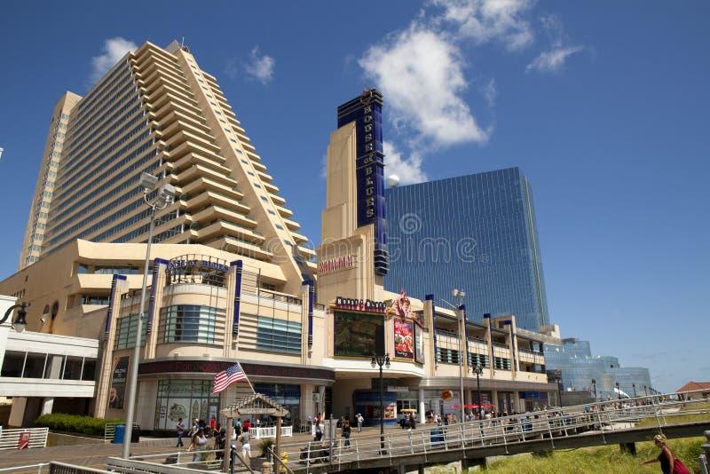 O casino do Showboat em Atlantic City, New-jersey fotografia de stock royalty free