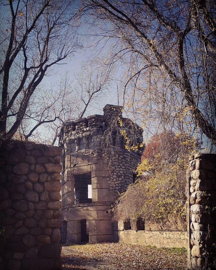 O castelo de Bancroft foto de stock royalty free