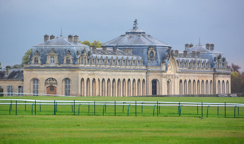 O castelo de Chantilly imagem de stock royalty free
