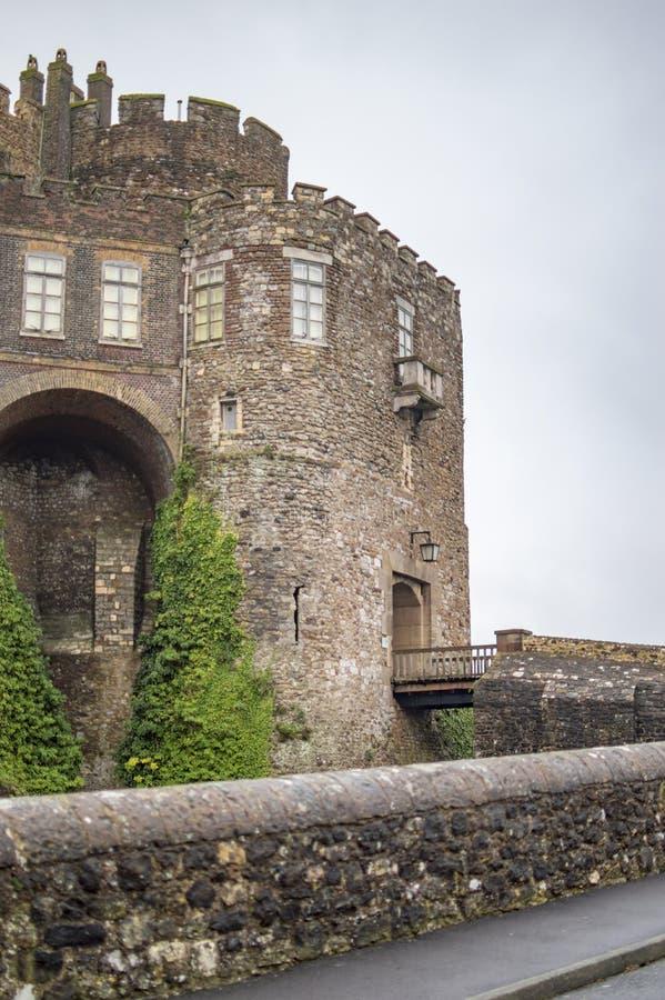 O castelo de D?var da parte dianteira imagem de stock royalty free