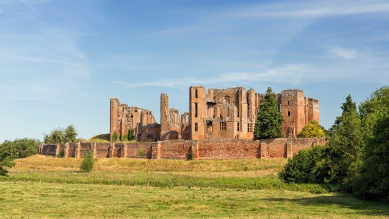 O castelo de Kenilworth, Warwickshire, England foto de stock royalty free