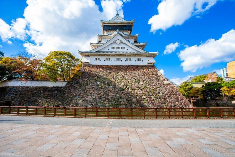 O castelo de Kokura foi construído por Hosokawa Tadaoki em 1602, construção histórica O castelo de Kokura é um castelo japonês em fotos de stock