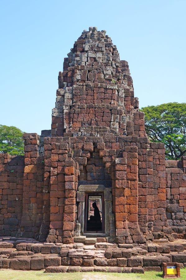 O castelo de pedra antigo foto de stock