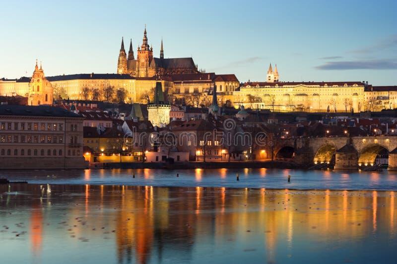 O castelo de Praga imagem de stock royalty free