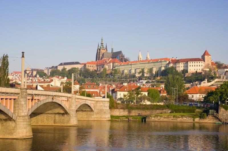O castelo de Praga imagem de stock