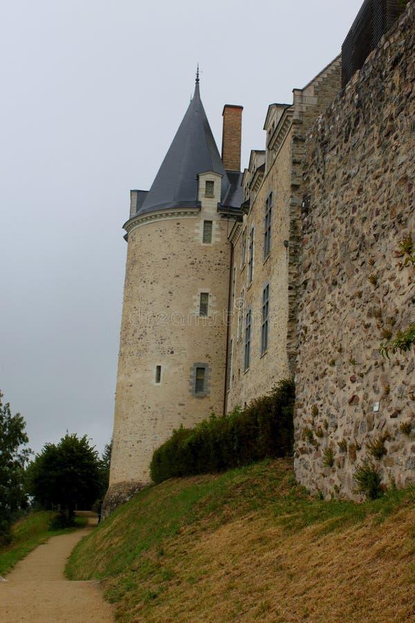 O castelo de Sainte Suzanne foto de stock royalty free