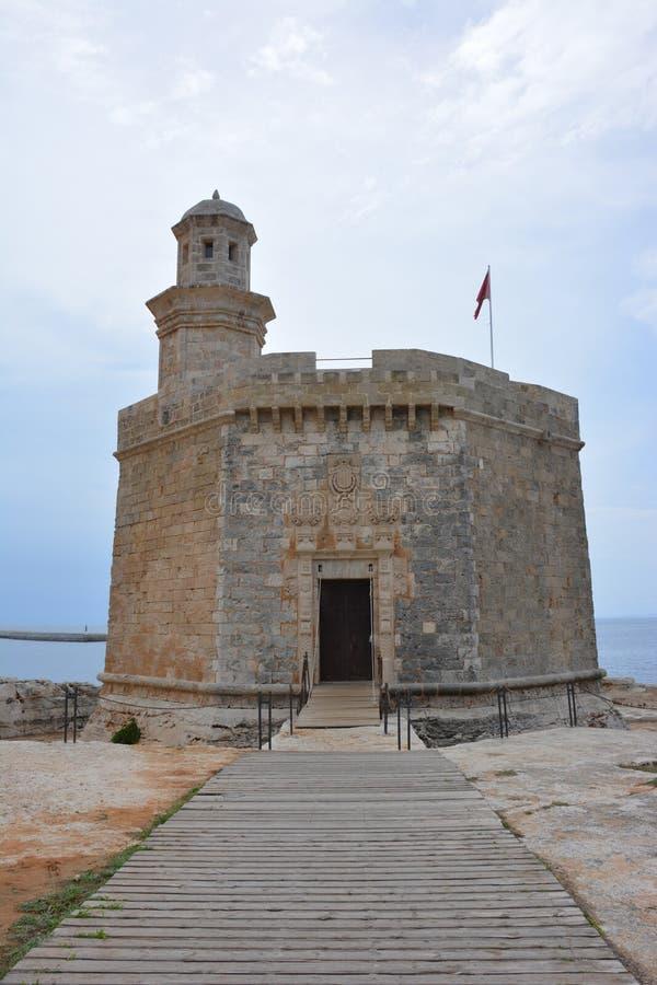 O castelo de Sant Niclau fotos de stock royalty free