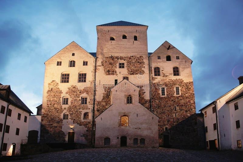 O castelo de Turku imagem de stock royalty free