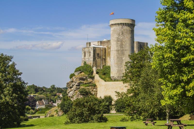 O castelo de William o conquistador fotografia de stock royalty free