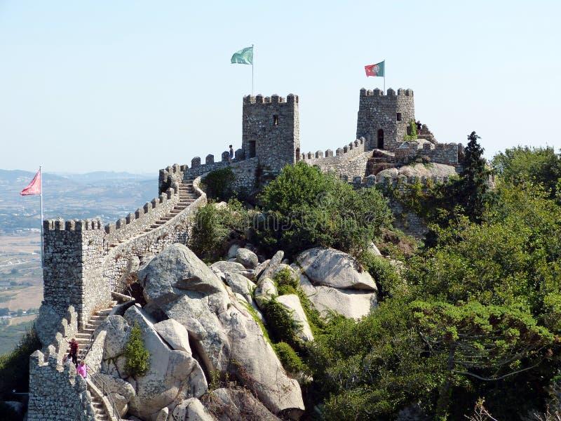 O castelo do amarra 2 fotos de stock royalty free