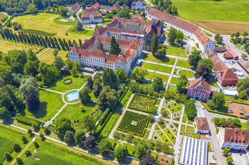 o castelo histórico Salem perto do lago Constance, castelo de Bodensee imagem de stock royalty free