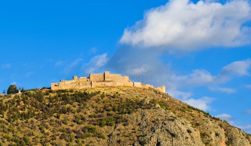 O castelo Larissa fotografia de stock royalty free