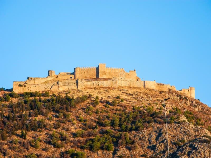 O castelo Larissa foto de stock