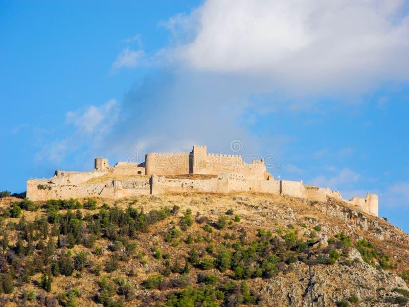 O castelo Larissa imagens de stock royalty free