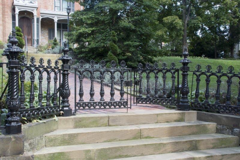 O castelo, Marietta, Ohio imagens de stock royalty free
