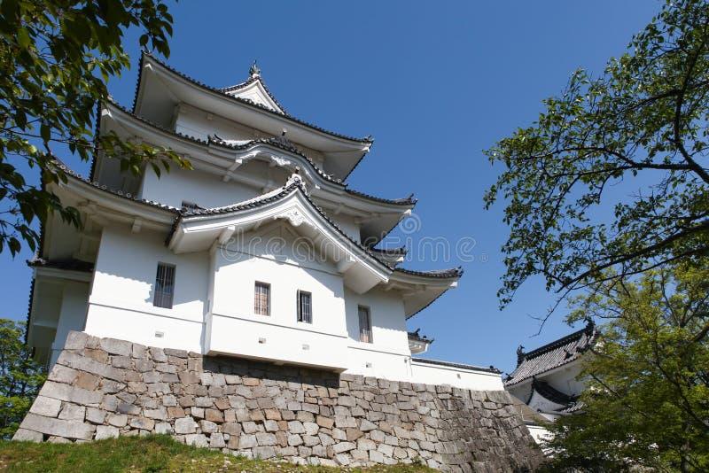 O castelo original de Ninja de Iga Ueno fotografia de stock royalty free