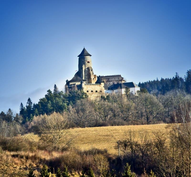 O castelo velho foto de stock royalty free